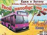 Пассажирские перевозки: Киев - Одесса - Затока