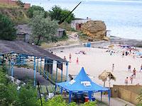 Відпочинок на Чорному морі в Одесі. Пляж Чкаловський