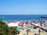 Відпочинок на Чорному морі в Одесі. Пляжі Великого Фонтану