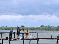 Рассейка, мостик через озеро