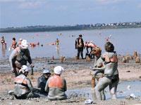 Відпочинок на Чорному морі в Одесі. Пляж Куяльник